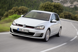 VW Golf GTI in Sixt CPMR