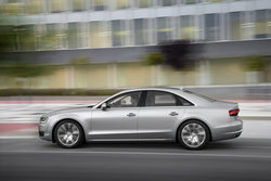 Audi A8 in Sixt XDAR