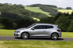 VW Scirocco in Sixt SSMR