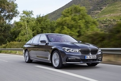 BMW 7er in Sixt XDAR