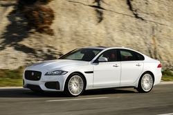 Jaguar XF in Sixt PDMR