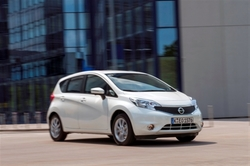 Nissan Note in Sixt CCMR