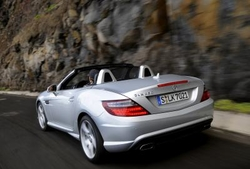 Mercedes-Benz SLK in Sixt PTMR