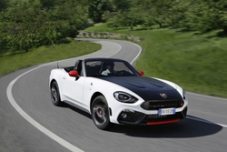 Abarth 124 Spider in Sixt PTMR