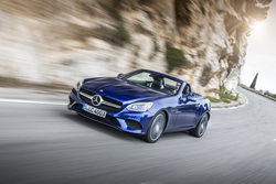 Mercedes-Benz SLC in Sixt PTMR