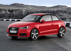 Audi A1 in Sixt CCMR