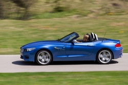 BMW Z4 Roadster in Sixt PTMR