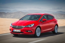 Opel Astra in Sixt CDMR