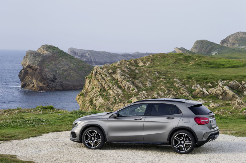 Mercedes-Benz GLA in Sixt FFMR