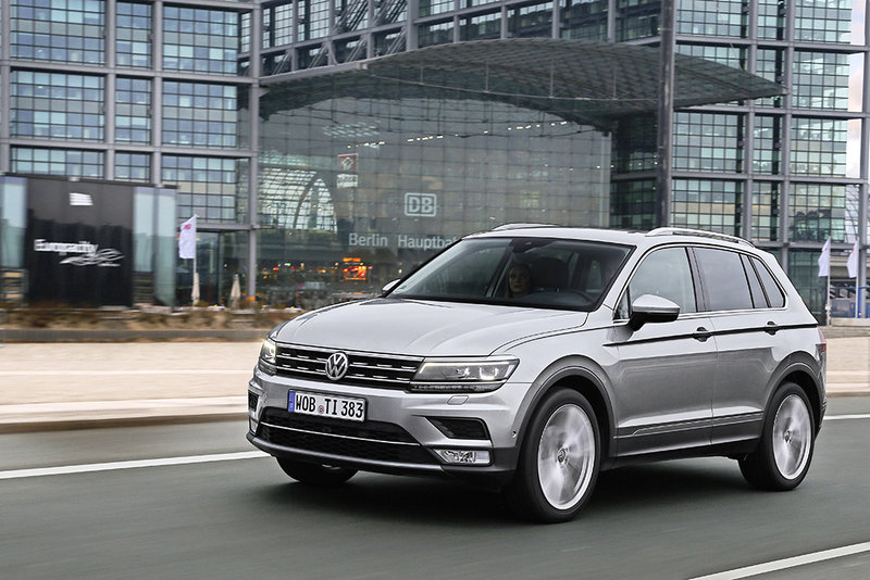 VW Tiguan in Sixt FFMR
